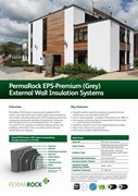 PermaRock EPS-Premium (Grey) EWI System Sheet (high-performance, light-weight enhanced EPS graphite systems)