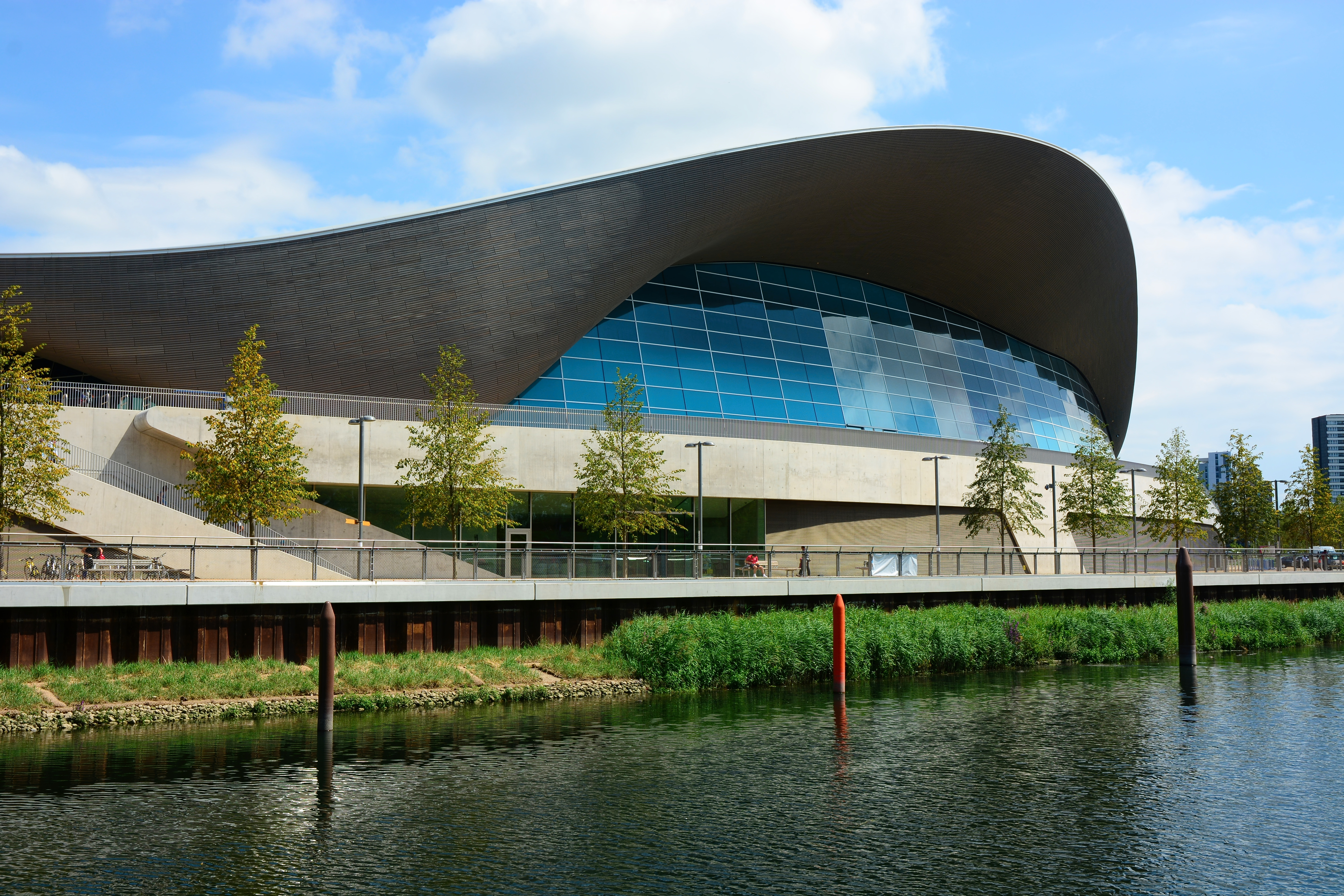 London Aquatics Centre made Watertight with GCP Preprufe® Waterproofing System