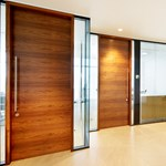 44 mm Thick Timber Door In Microflush Frame