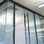 Kinetic Seal Sliding Door