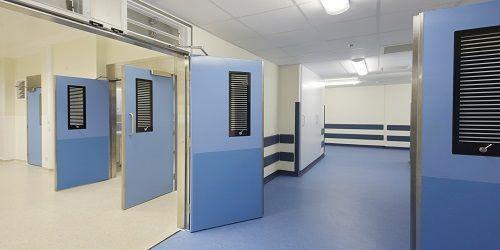 Dortek Hygienic Hinged Doors - Double Action