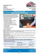 Radbar Gas Resistant DPC BBA Certificate