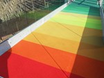 Spectrum Resin Bound Recycled Coloured Glass Paving