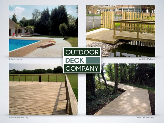 Durapine Timber Decking