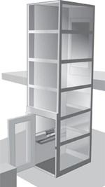 A8000 Vertical Platform Lift