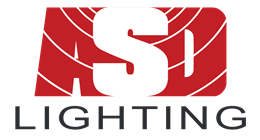 ASD Lighting plc logo.