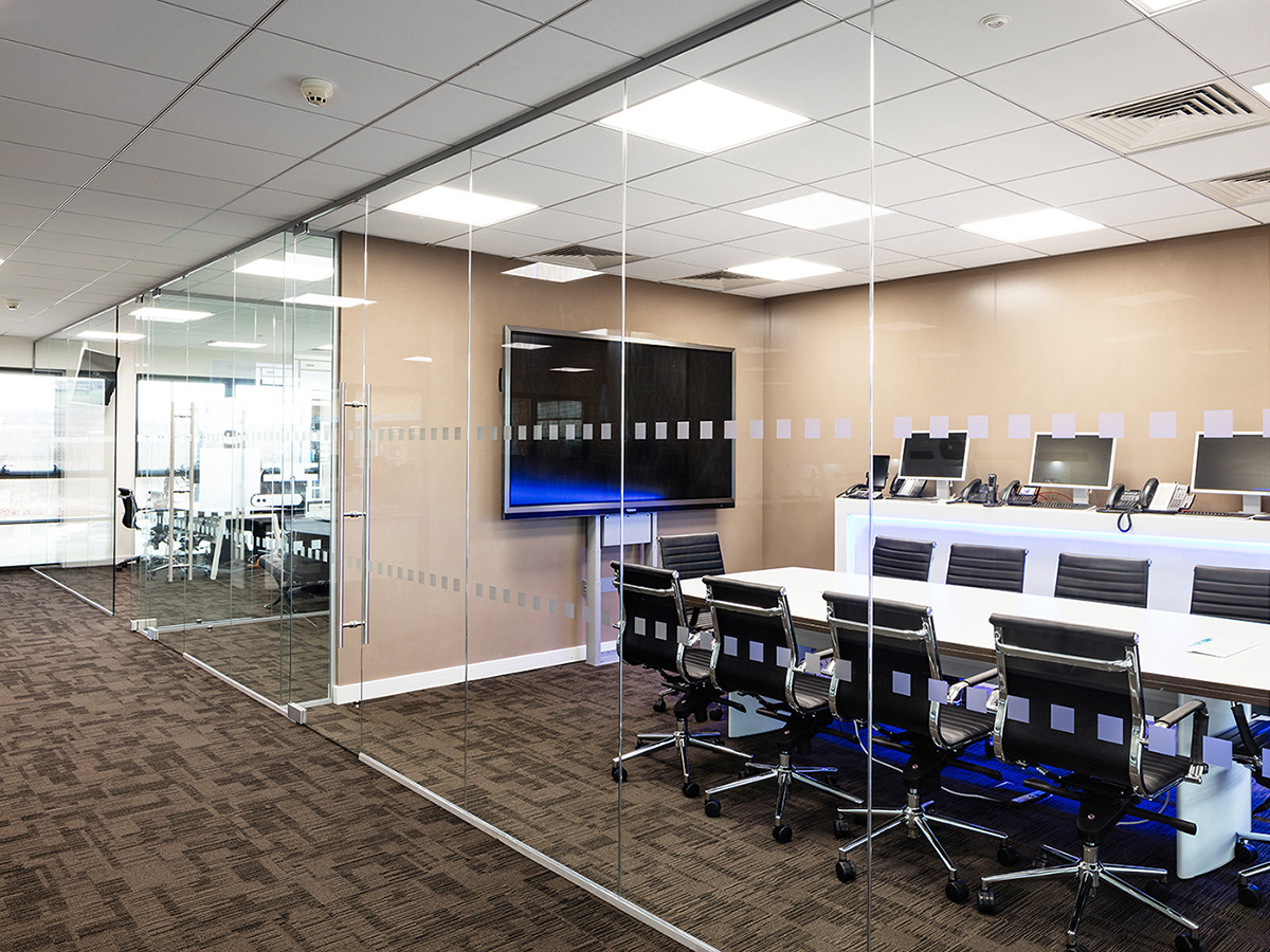 Fire rated glass office doors - Company Image