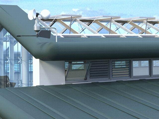 Natural Ventilation System For Atria Se Controls
