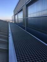 Ascent™ Aluminium Walkway System for Standing Seam Roofs