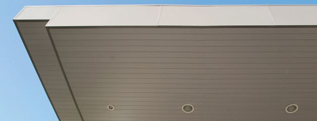 Luxalon Closed Exterior Ceiling System Hunter Douglas Architectural Projects