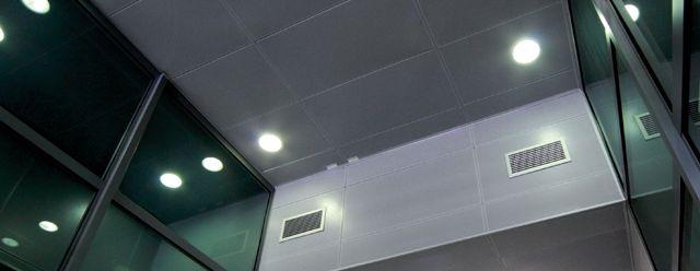 Luxalon 174 Clip In Tile Ceiling System Hunter Douglas