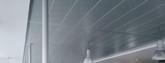 Luxalon 174 300c L C Grid Ceiling System Hunter Douglas