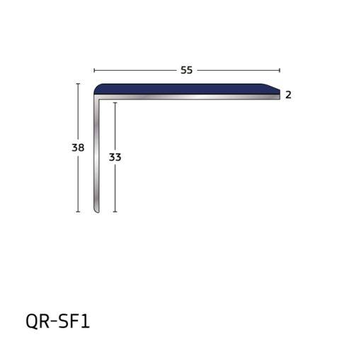 Q Range – Aluminium Stair Nosings for Vinyl and Laminate
