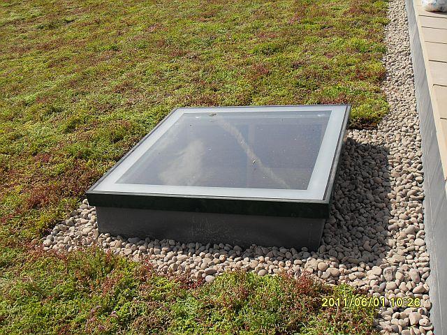 RG-80 Fixed Flatglass Single Pane Rooflight