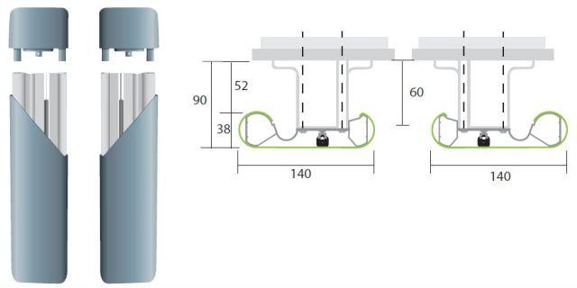 Profile Protection: BL140 Bed Locator