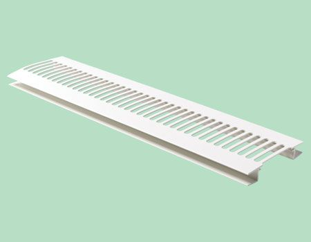 10 mm H-Section Soffit Ventilator