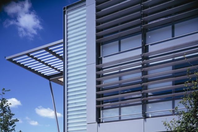 Solarfin Fixed Or Moveable Extruded Louvre Solar Shading