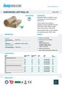 Knauf Insulation Loft Roll 44 Insulation Data Sheet