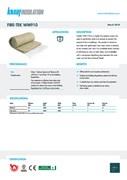 Knauf Insulation Fire-teK WM 910 Data Sheet