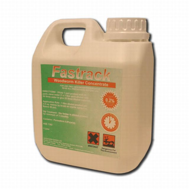 Fastrack Woodworm Killer Concentrate