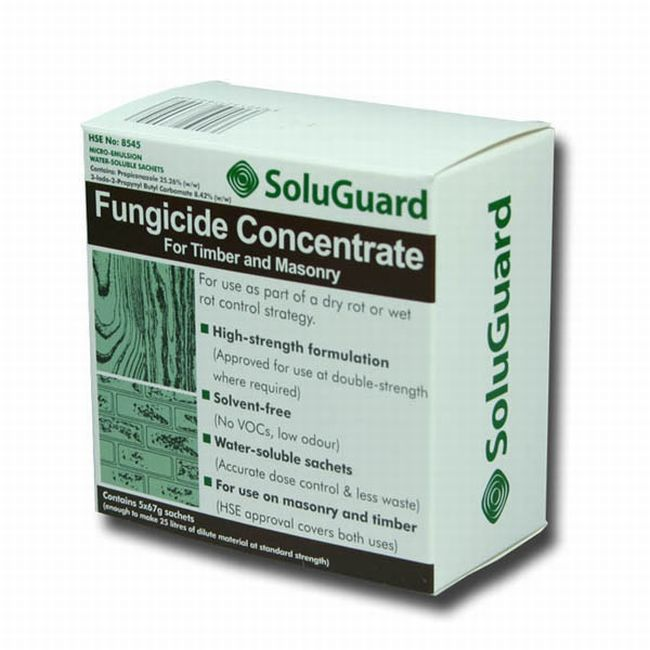 SoluGuard Fungicide Concentrate for Timber and Masonry