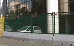Publifor Standard Angled Unit - Metal Mesh Fence Panel