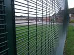 Securifor 4D and Bolt Spider Fixators - Metal Mesh Fence Panel