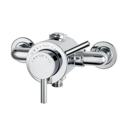 Elina TMV3 Exposed Concentric Inclusive Mixer Shower