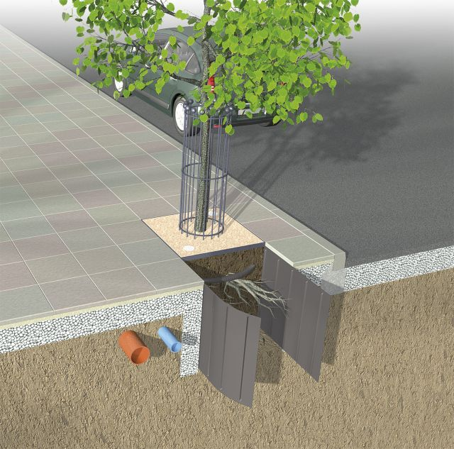 how to make a root barrier
