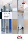 Dorma Variflex Traditional Folding Wall Brochure