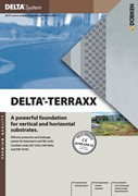 DELTA-TERRAXX  Protection and Drainage System for Cellars