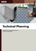 Technical Planning - For Foundation-wall Protection, Drainage and Waterproofing