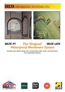"DELTA-PT ""The Original Waterproof System"""