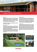 Hertalan EPDM Green Roofing Systems