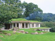Rhepanol selected for the three distinctive green roofs at Dartmoor home