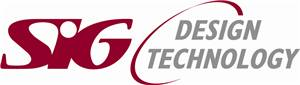SIG Design & Technology logo.