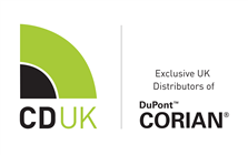 CD (UK) Ltd, Distributors of Corian® logo.