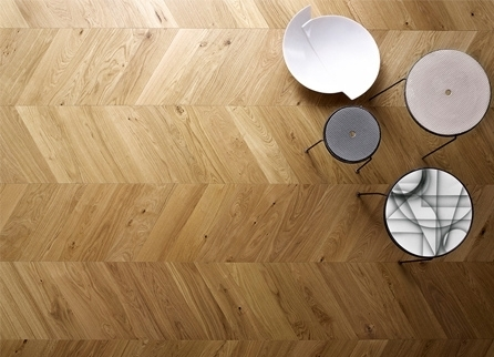 Atelier Collection - Chevron Engineered Hardwood Flooring