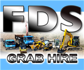 FDS Grab Hire logo