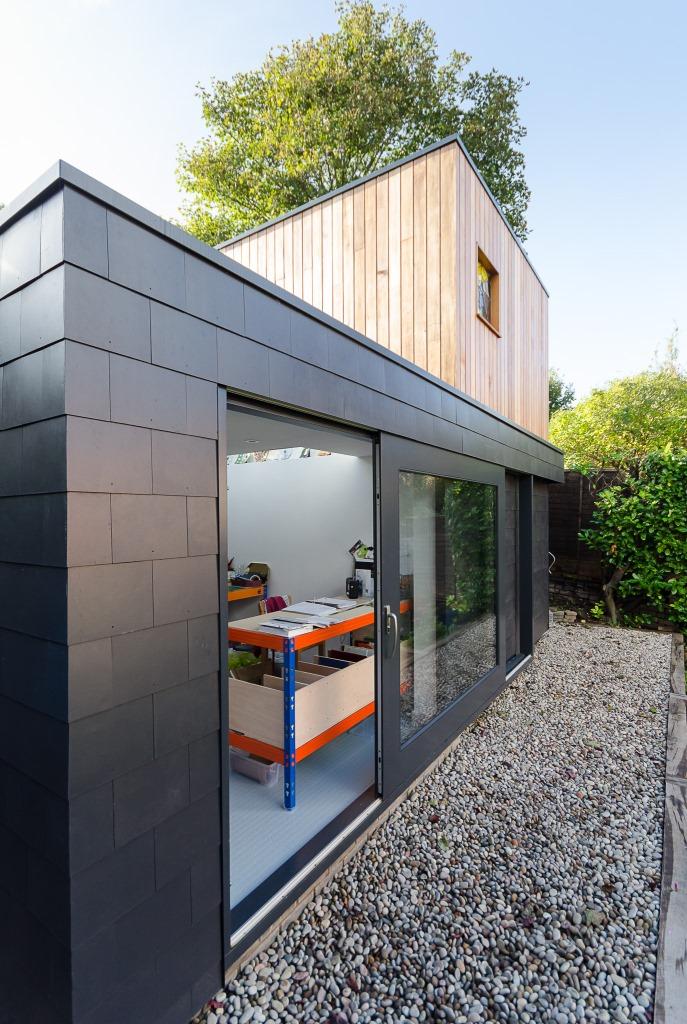 One Storey Modern House Design Exterior