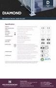 Specification Sheet - Diamond Entrance & Transition Carpet