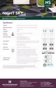 Specification Sheet - Night Sky Commercial Carpet Tiles & Carpet Planks