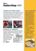 Flooring Membrane Radon Stop 400