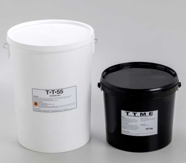 TT55 Waterproof Slurry - Cementitious Tanking Slurry for Walls and Floors