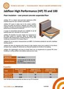 Jabfloor HP for Over Precast Concrete Suspended Floor