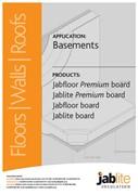 Jabfloor Premium Board, Jablite Premium Board, Jabfloor Board and Jablite Board for Basements
