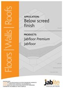 Jabfloor Premium and Jabfloor for Below Screed Finishes