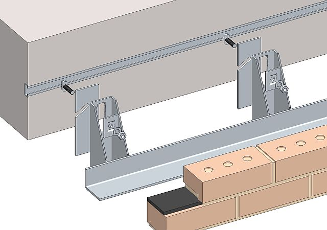 Masonry Support System Wsc Bracket Angle Support