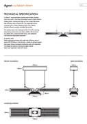 Dyson Cu-Beam Down - Technical Specification