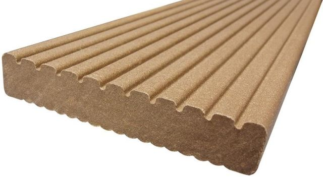 ecodek® Composite Decking Board – Heavy Duty (HD)  (Reversible)